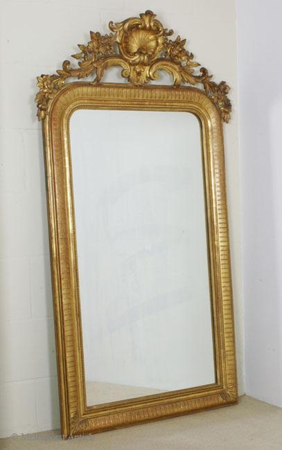 Franz u00f6sischer Spiegel   Antike uhren melenhorst