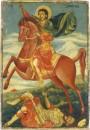 Der heilige Demetrios von Thessaloniki