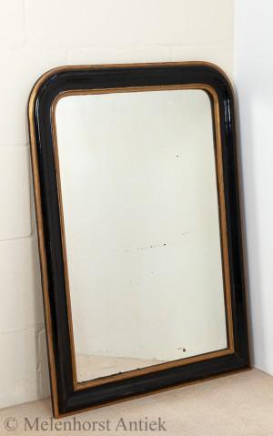 spiegel schwarz mit gold