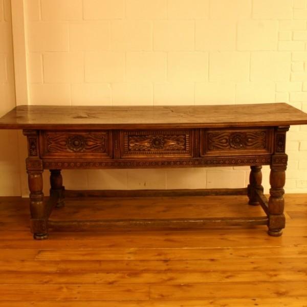 spanischer tisch antike uhren melenhorst. Black Bedroom Furniture Sets. Home Design Ideas