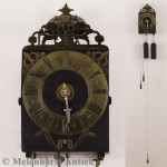 Comtoise-Uhr mit Zahlenreif