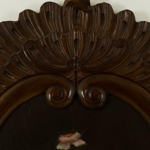 antiker spiegel antike uhren melenhorst. Black Bedroom Furniture Sets. Home Design Ideas