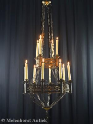 Antike Kerzen Kronleuchter