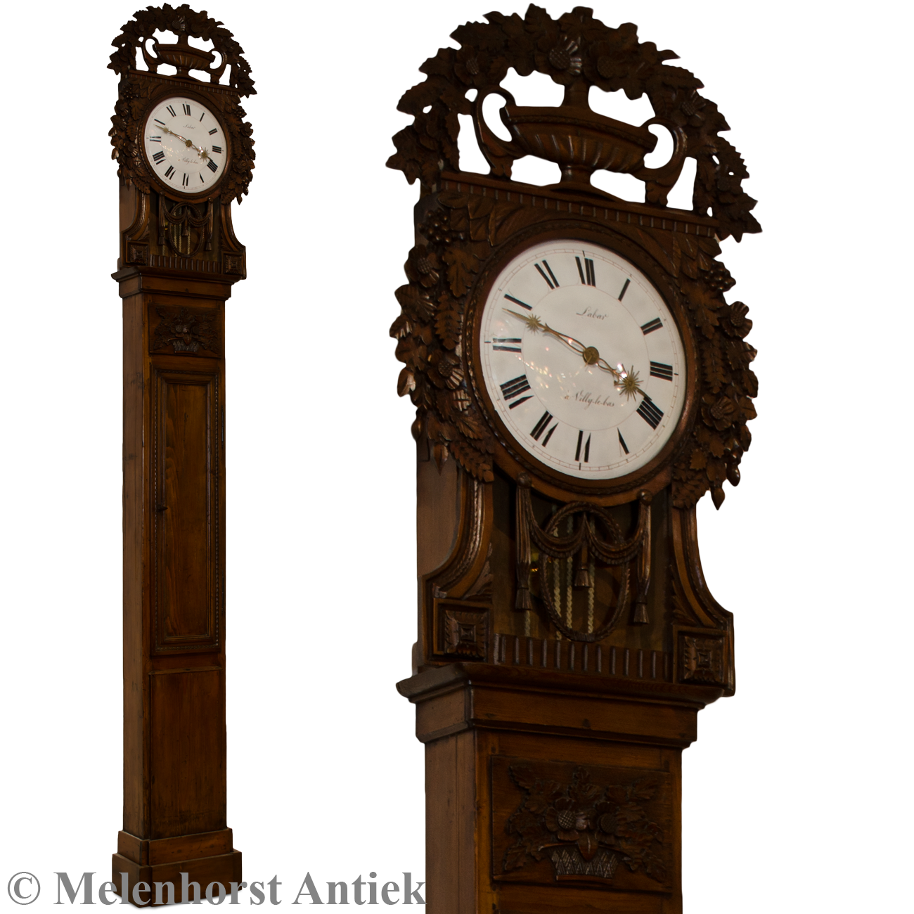 horloge de saint nicolas antike uhren melenhorst. Black Bedroom Furniture Sets. Home Design Ideas