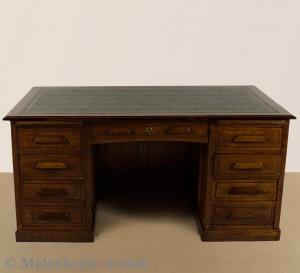Antike eichen Schreibtisch