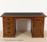 Antiker Eichen Schreibtisch