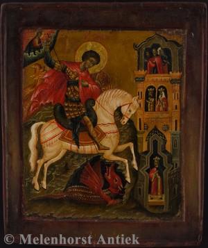 Der Heilige Georg der Drachentöter