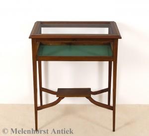Antike Vitrine Tisch