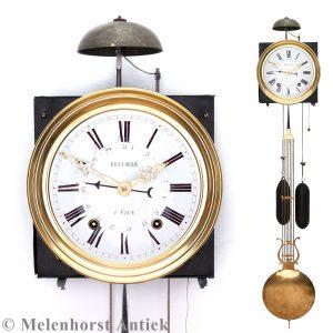 Comtoise-Uhr mit Datum