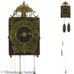 Einzeiger-Comtoise-Uhr