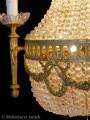 Antike Sac à perle Kronleuchter
